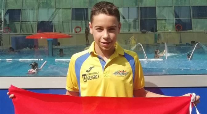 Iván Martínez seleccionado por la Federación Española de Natación para acudir al campus nacional