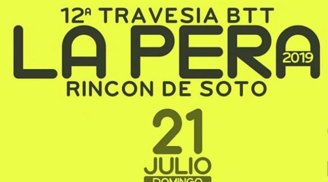 """12ª Travesía BTT """"La pera"""""""