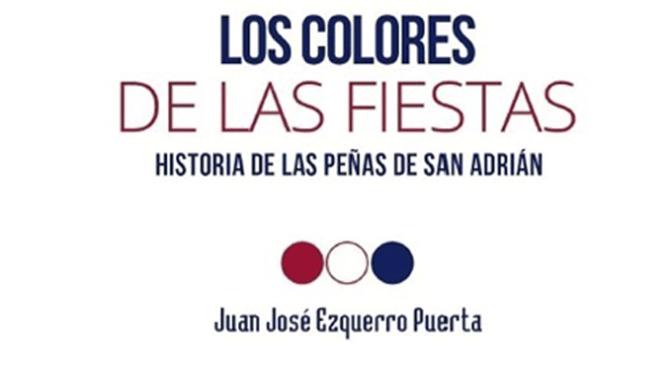 """Juan José Ezquerro presenta su nuevo libro """"Los colores de las fiestas"""""""