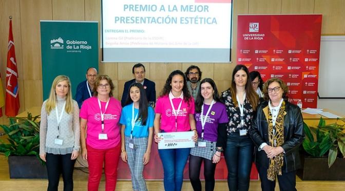 El IES Valle del Cidacos premiado en el II Concurso de Cristalización en la Escuela de la Rioja
