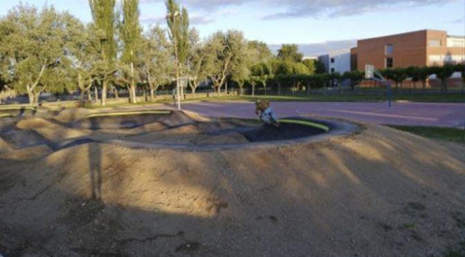 El domingo se inaugura el Nuevo circuito de Pump Track en San Adrián