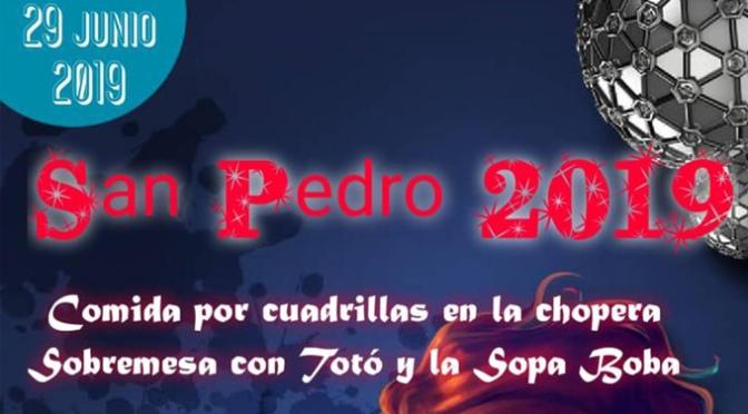 Este sábado, se celebra San Pedro en San Adrián