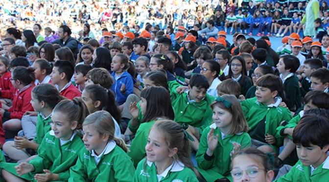 Acción de gracias en el Colegio Santa Teresa de Calahorra