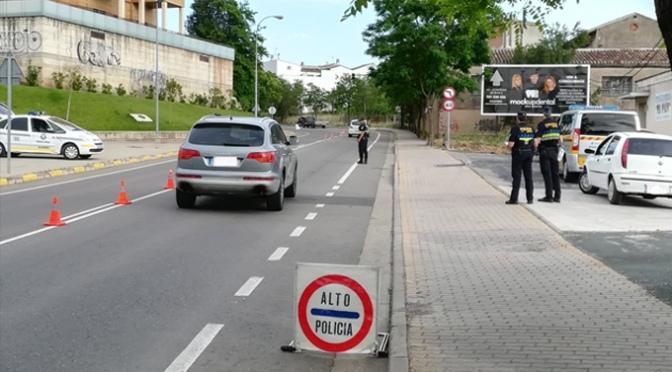 Actuaciones de la policia local de esta semana