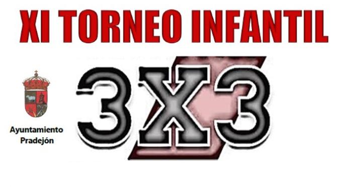 XI Torneo infantil 3×3 en Pradejón