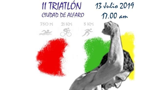 """II Triatlón """"Ciudad de Alfaro"""""""