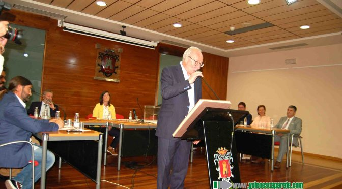 Julián Jiménez Velilla hace oficial el  Organigrama Municipal en Alfaro