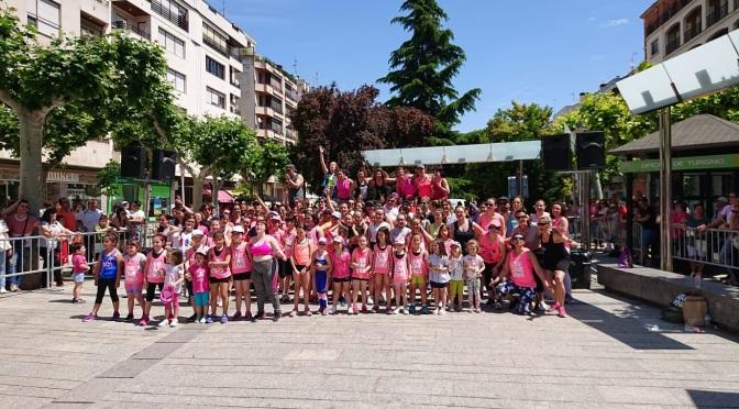 El calor, fue el gran protagonista en el Día del deporte en la calle calagurritano