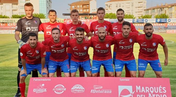 Tras el empate del CD Calahorra, toca seguir entrenando para el próximo partido