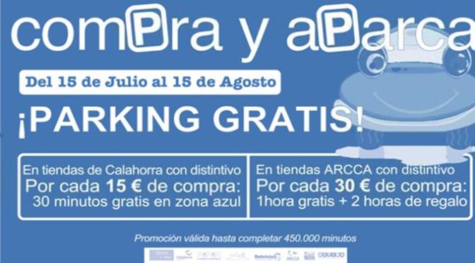 A partir del lunes compra y aparca gratis en Calahorra
