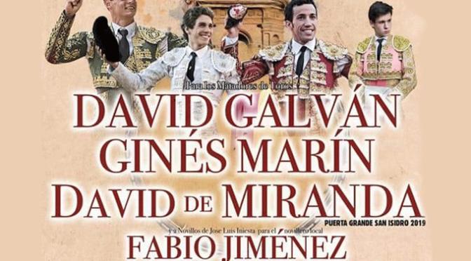 Presentación del cartel taurino del próximo viernes 16 de agosto en Alfaro