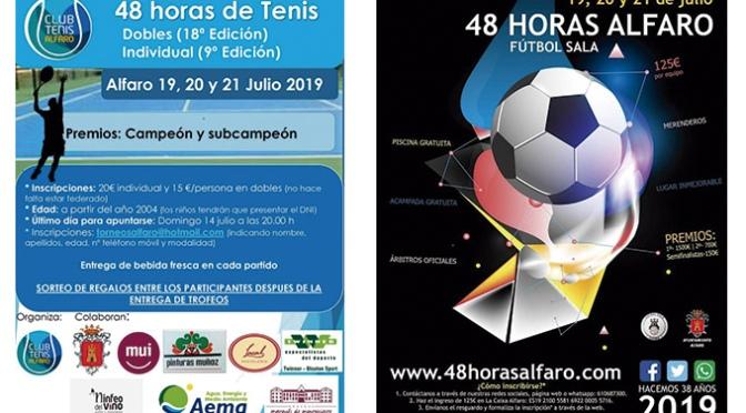 48 horas de Tenis y Futbol Sala en Alfaro este fin de semana