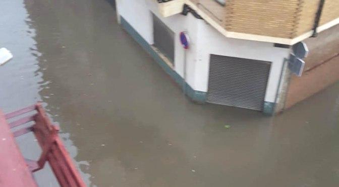 Importantes daños tras el episodio de Fenómenos Adversos de Lluvias y Tormentas de ayer