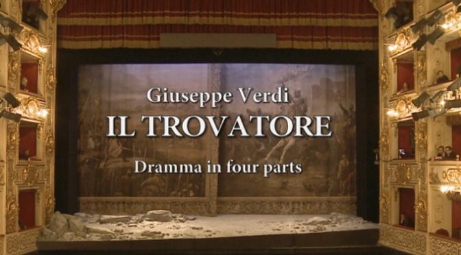 """Retrasmisión de la ÓPERA """" Il Trovatore"""" en Calahorra"""