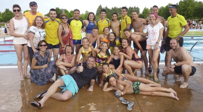 El Nassica en el Campeonato de La Rioja de natación de Verano 2019