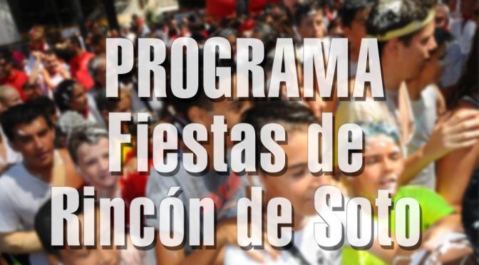 Rincón de Soto comienza sus fiestas patronales este viernes