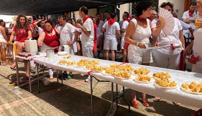 Domingo 28 de Julio, día de las peñas en San Adrián