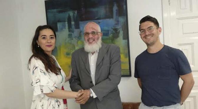 Encuentro con el delegado saharaui de  La Rioja