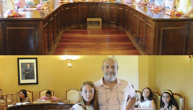 En San Adrián hoy 29 de julio, todo preparado para los más pequeños