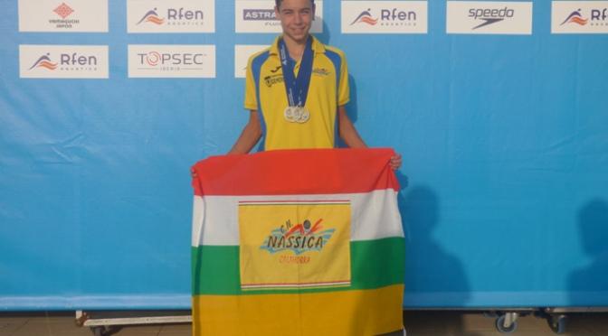 Gran Fin de semana del nadador Iván Martínez Sota con dos medallas de plata