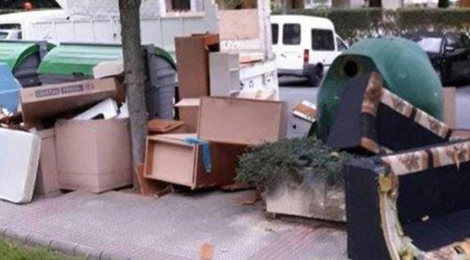 Servicio gratuito de recogida de residuos voluminosos