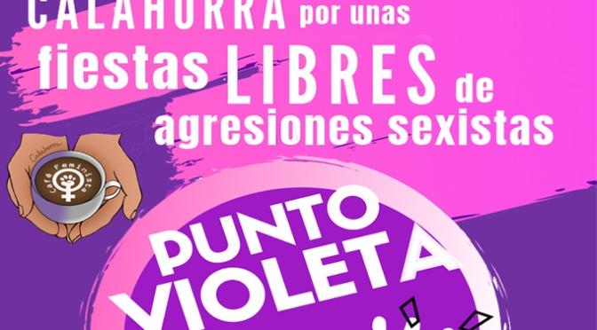 Punto Violeta este viernes del colectivo Café feminista de Calahorra