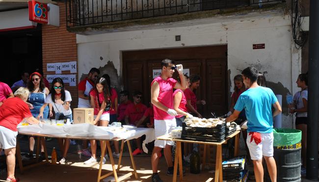 Homenaje a las personas mayores en las fiestas de Rincón de Soto