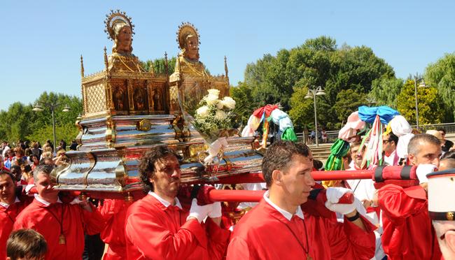 Hoy día grande de la fiestas de Calahorra