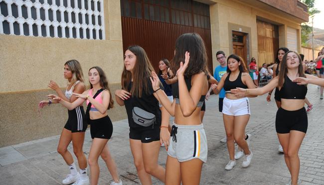 Los jóvenes celebran su día en Aldeanueva de Ebro
