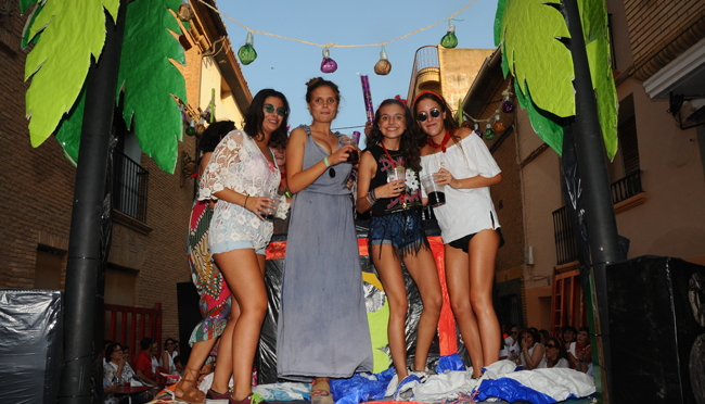 Aldeanueva de Ebro celebra hoy el día de la mujer en sus fiestas patronales
