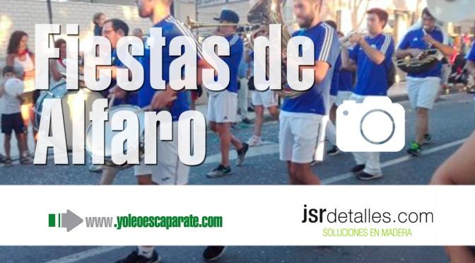 Galería: Espectacular el desfile de carrozas de Alfaro