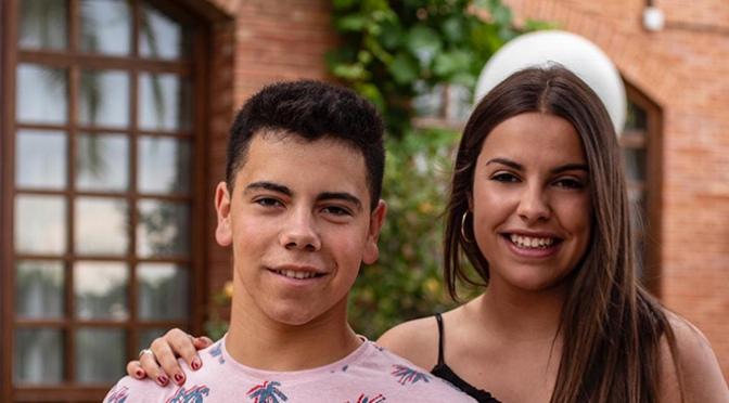 El Rey y la Reina de las fiestas de Pradejon 2019