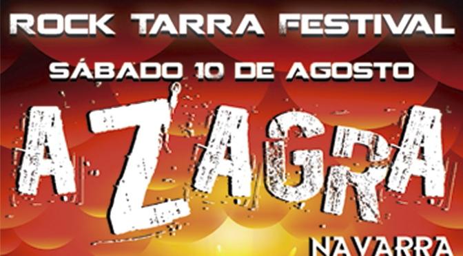 Azagra presenta la primera edición del Rock Tarra Festival