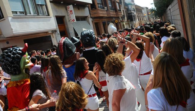 Tercer día de las fiestas de Aldeanueva de Ebro