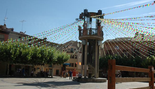 Ultimo día de las fiestas de Aldeanueva de Ebro