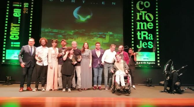 """Celebrada la XX gala de entrega de premios del Festival """"¡Cort…en! Ciudad de Calahorra"""""""