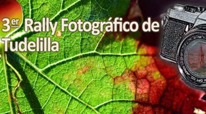 El próximo domingo 6 de Octubre, Rally fotográfico en Tudelilla