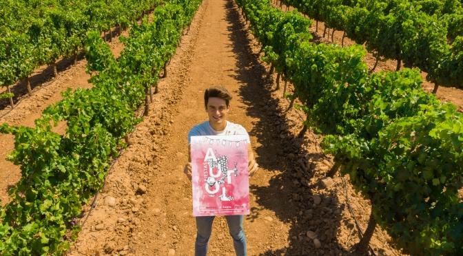 Francsico Mazo es el ganador del concurso de carteles para representar a la fiestas de Autol
