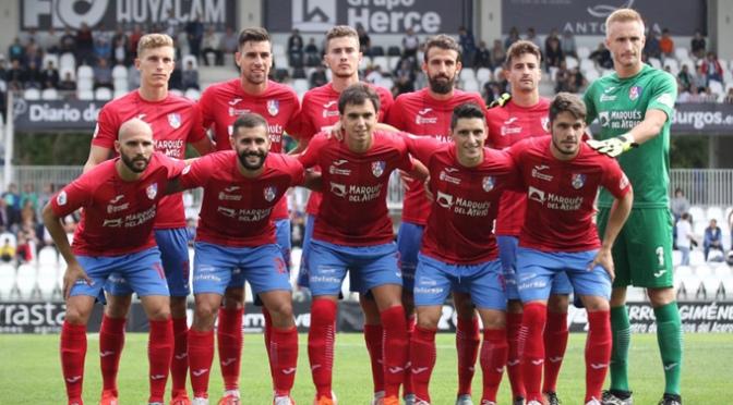 El CD Calahorra consiguió una importante victoria, 0-1, en Burgos