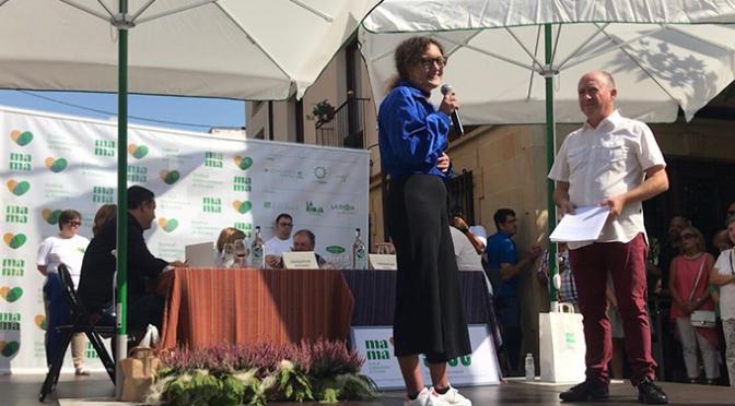 Elisa Sanz  finalista en el  I Concurso de croquetas de Ezcaray