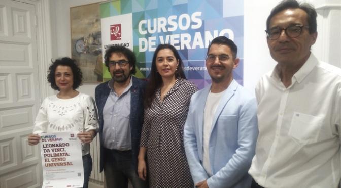 Leonardo da Vinci protagoniza el Curso de Verano de la Universidad de La Rioja en Calahorra