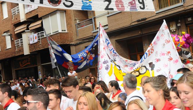 Hoy es el día del hermanamiento de las peñas en las fiestas de Azagra