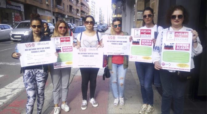 Trabajadoras de perfumerías Douglas en Calahorra van a la huelga este jueves y viernes