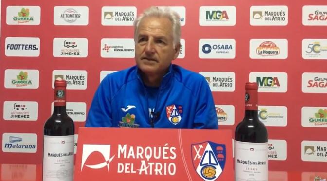 Miguel Sola ofrece la previa del próximo partido del CD Calahorra ante el Burgos CF