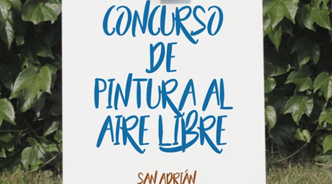 San Adrián y Fustiñana se unen para la celebración de los concursos de pintura  al aire libre