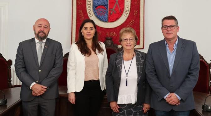 El Ayuntamiento de Calahorra se reúne con la Asociación de Víctimas del Terrorismo