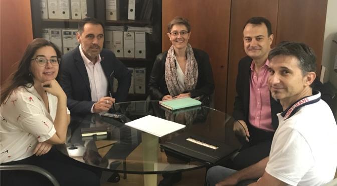 Reunión de trabajo sobre nuevo centro de Formación Profesional Integrada de Calahorra