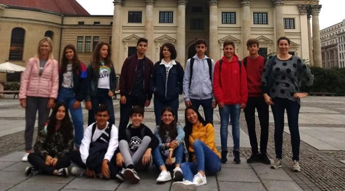 Los alumnos de 4º ESO del IES Valle del Cidacos participan en un intercambio en Berlín