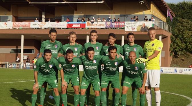 El CD Calahorra empató a domicilio, 3-3, frente al SD Leioa y continua invicto