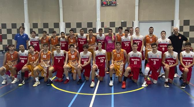 El equipo junior ABQ Calahorra en la 2ª Jornada liga Junior de